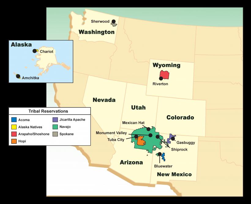 2020 Tribal Collaboration Map
