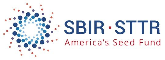 """Logo image that says """"SBIR - STTR"""" and """"America's Seed Fund."""""""