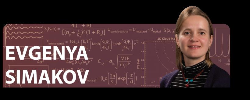 Evgenya Simakov: Then and Now / 2010 Early Career Award Winner