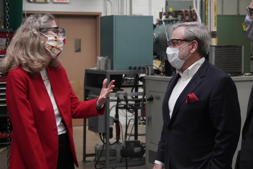 Secretary Brouillette at Ames National Lab