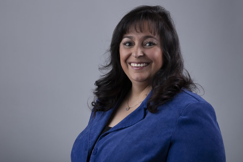 Marie Griego of NNSA's Los Alamos Field Office, takes on daily security challenges.