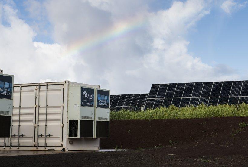 Photo of the AES Lawai Solar Project in Kauai, Hawaii