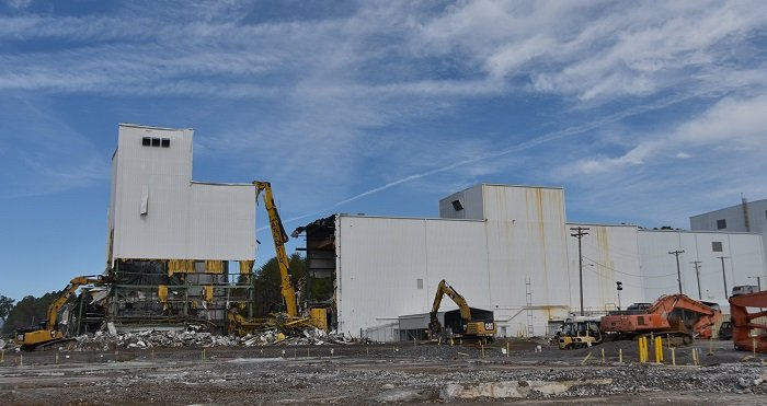 UCOR began demolition on the Centrifuge Complex during the first half of fiscal 2020. These buildings were the largest remaining buildings at the site and spanned 235,000 square feet.