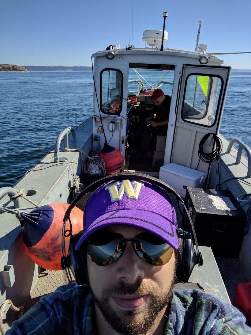 Rob Cavagnaro is a mechanical engineer with PNNL's Marine Sciences Laboratory.