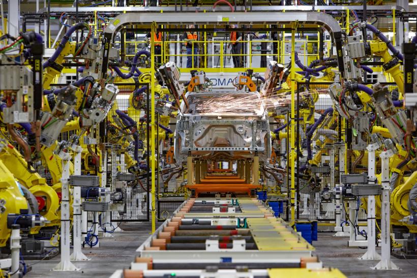 General Motors assembly line
