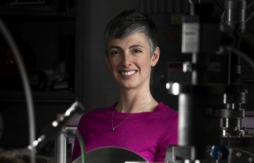 Los Alamos National Laboratory scientist Dr. Nina Lanza
