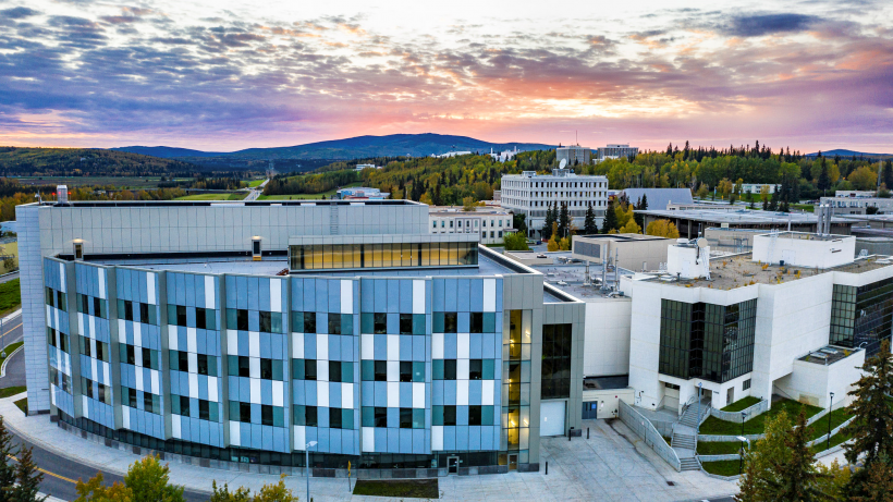 University of Alaska Fairbanks campus