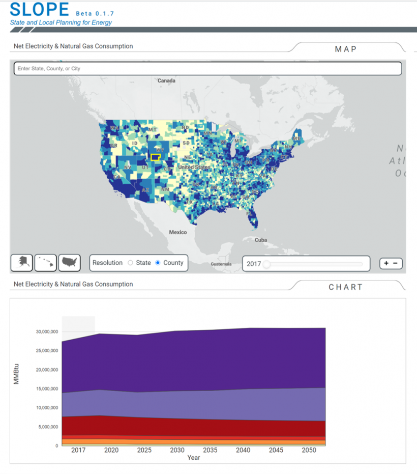 The State and Local Planning for Energy (SLOPE) tool aims to improve data-driven state and local energy planning by integrating and resolving planning-relevant data at jurisdictional levels. SLOPE Beta integrates data on energy efficiency and renewable...