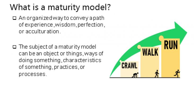 maturity model infographic