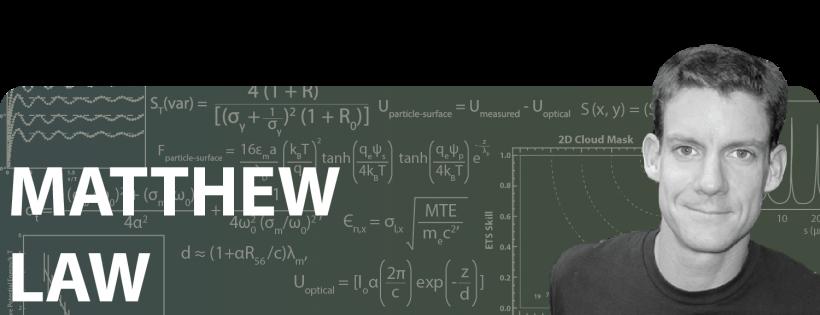 Matt Law: Then and Now / 2010 Early Career Award Winner