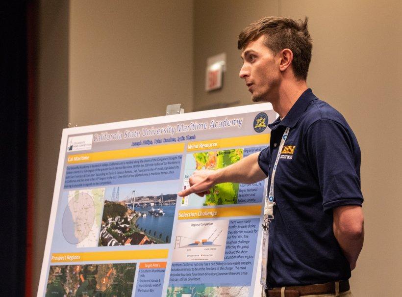 CWC participant gives a presentation.