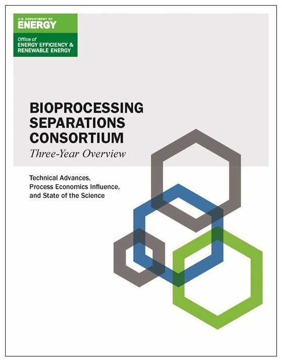 Cover page for the Bioprocessing Separations Consortium Three-Year Overview