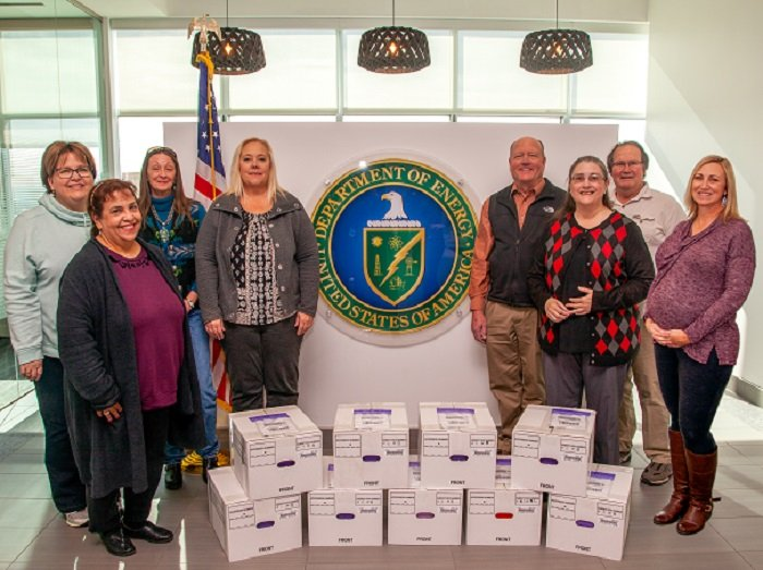 In September 2020, the EM Nevada Program completed the transfer of more than 7,200 documents and records to the DOE Office of Legacy Management (LM) for long-term stewardship of 70 sites on the Nevada Test and Training Range.