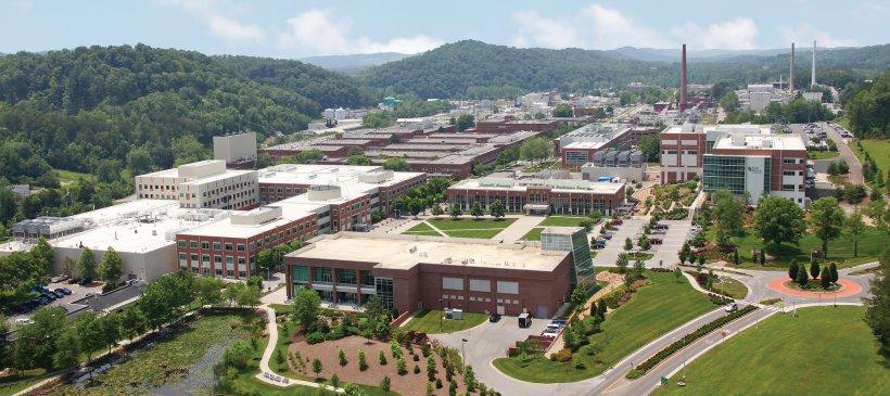 Aerial view of Oak Ridge National Laboratory