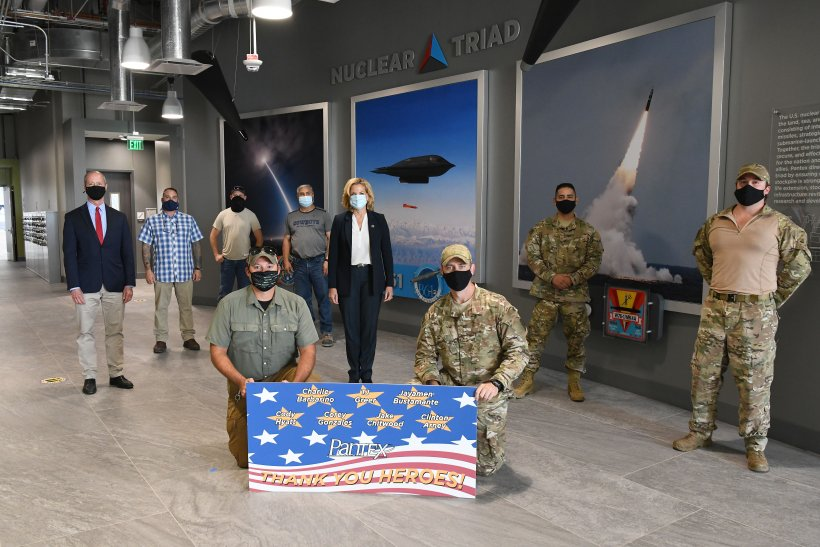 Lisa E. Gordon-Hagerty, Under Secretary for Nuclear Security and NNSA Administrator, recently thanked the individuals at Pantex who saved the lives of three strangers during two separate incidents.
