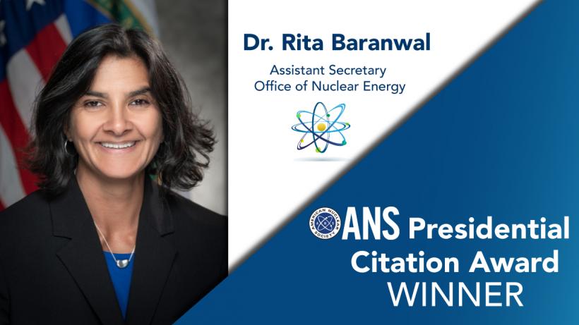 Rita Baranwal ANS Presidential Award Recipient