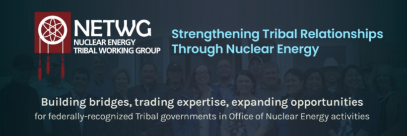 infographic on nuclear energy tribal working group