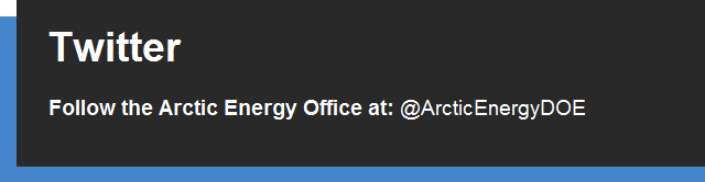 Arctic Energy Office Twitter graphic