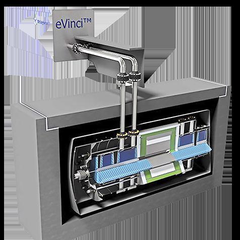 eVinci microreactor by Westinghouse Nuclear