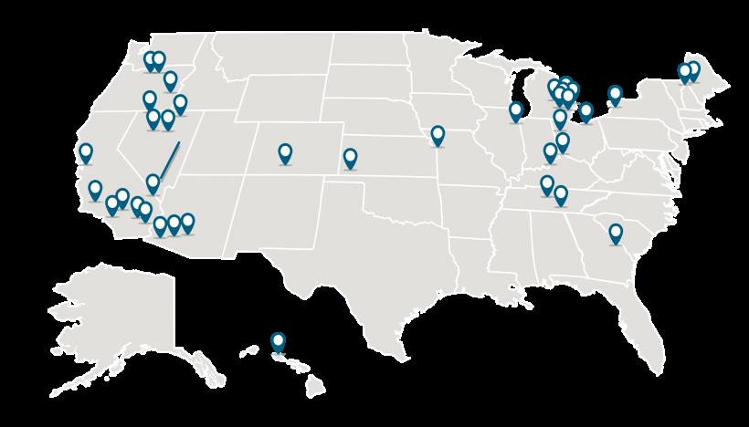 Loan Programs Office portfolio map