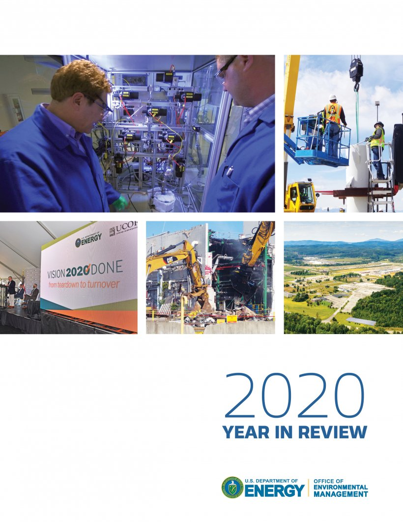 2020 Year in Review Report Cover
