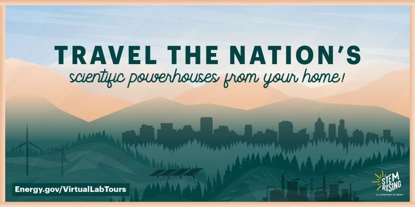 Travel the Nation's scientific powerhouses from your home with our virtual lab tours.