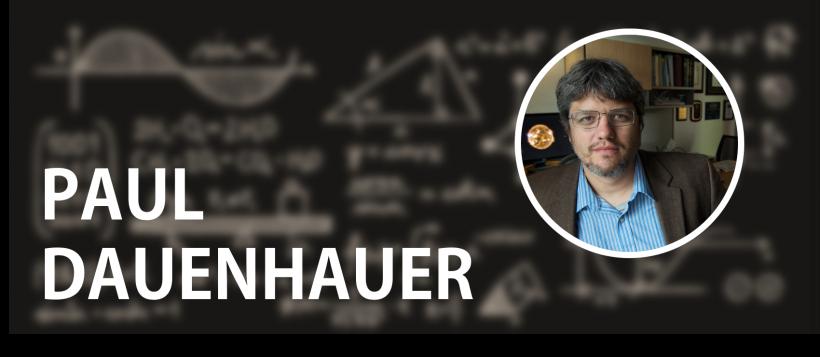 Paul Dauenhauer: Then and Now / 2011 Early Career Award Winner