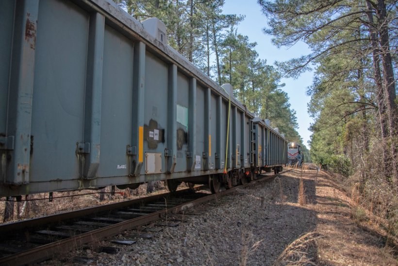 The specially constructed boxcars have transported low-level contaminated materials for decades, first at a former uranium processing plant near Cincinnati, Ohio, and then at the Savannah River Site.