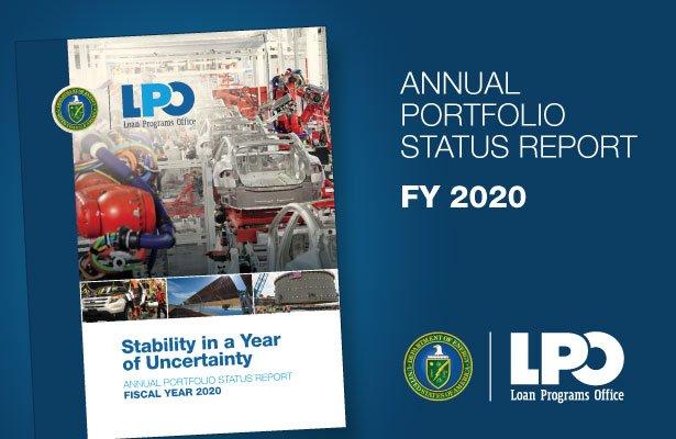 Cover of FY2020 Annual Portfolio Summary Report
