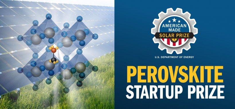 SETO Perovskite Startup Prize Header Image