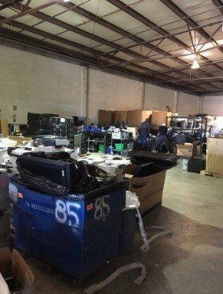 NNSA's Nevada National Security Site diverted 100 percent of its used electronic equipment from landfills by either selling for reuse or recycling. The team also logged a cost avoidance of $830,000 by transferring approximately 270 items internally over buying new.