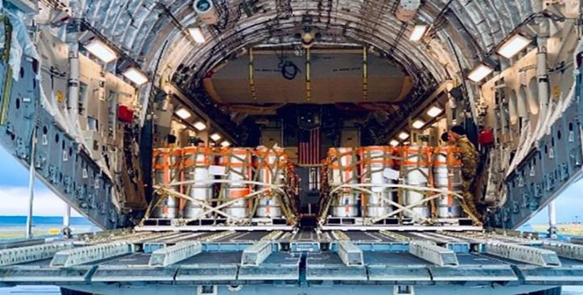 Excess highly enriched uranium is removed from the United Kingdom under the Office of Material Management and Minimization's Nuclear Material Removal program.