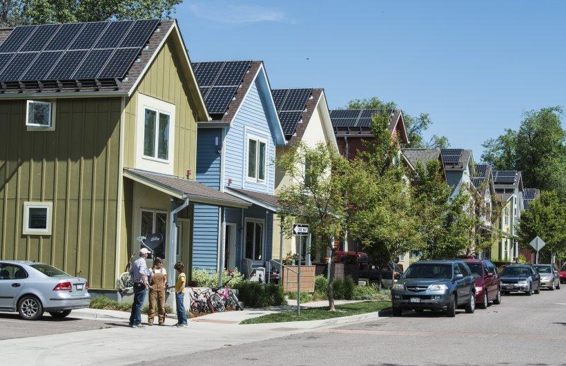 Red Oak Park won an international award for affordable housing.
