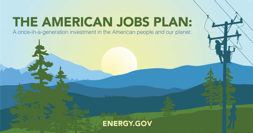 Follow the connections between energy and the American Jobs Plan.