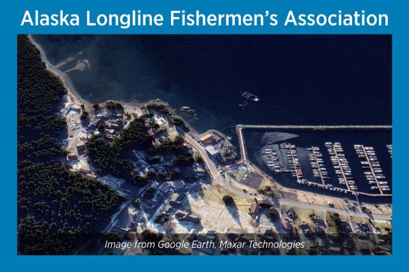 Alaska Longline Fishermen's Association satellite image