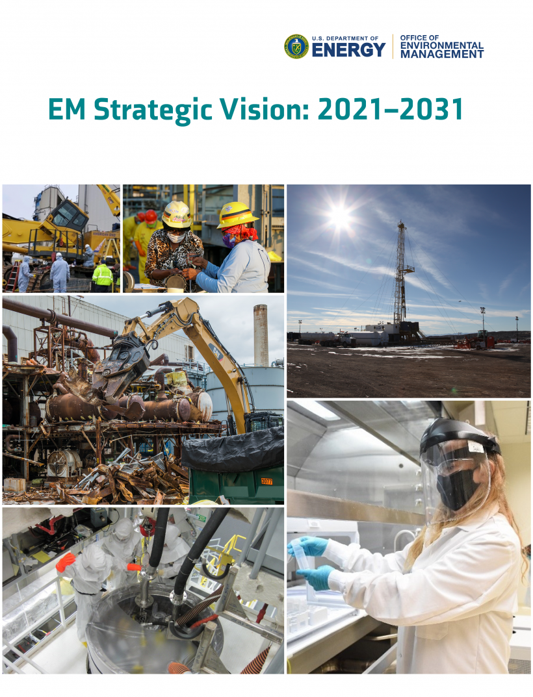 Report Cover EM Strategic Vision: 2021-2031