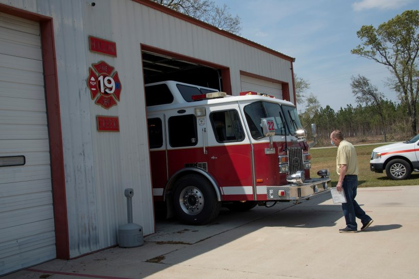 Firetruck In New Home