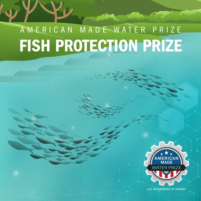 Branding badge for the Fish Protection prize.