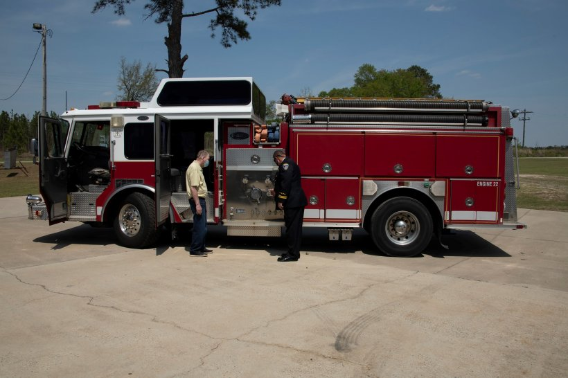Touring New Firetruck