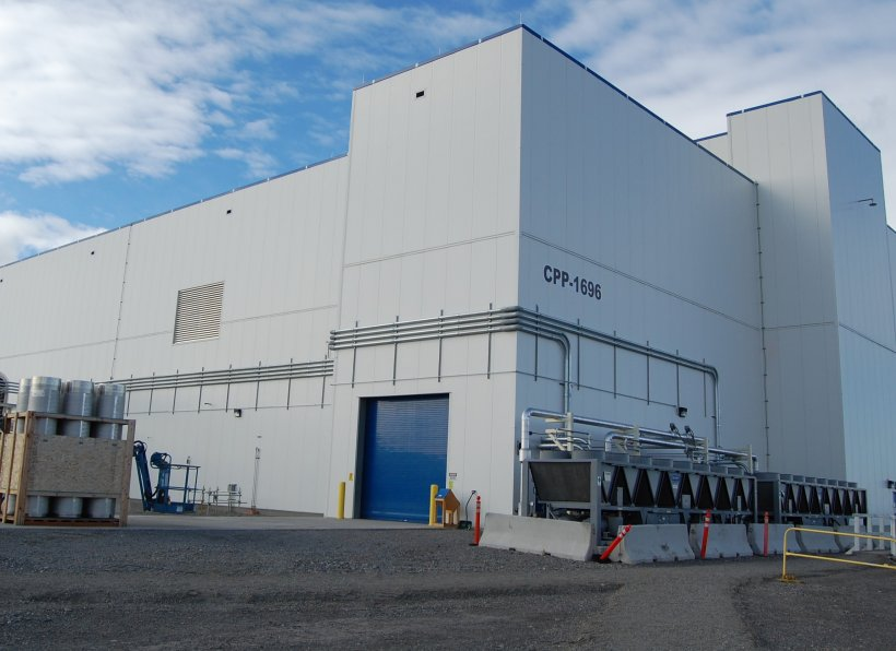 The Integrated Waste Treatment Unit.