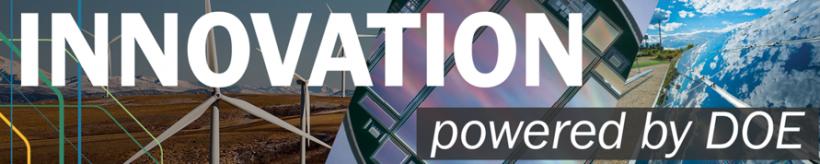 Innovation Powered by DOE logo