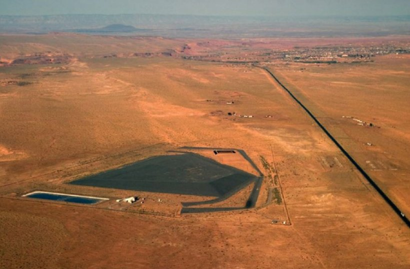 LM's Tuba City site, as seen from an aerial view, sits on part of the vast Navajo Nation and is in close proximity to the Hopi Tribe.
