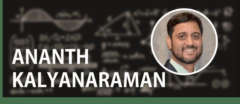 Ananth Kalyanaraman: Then and Now / 2011 Early Career Award Winner