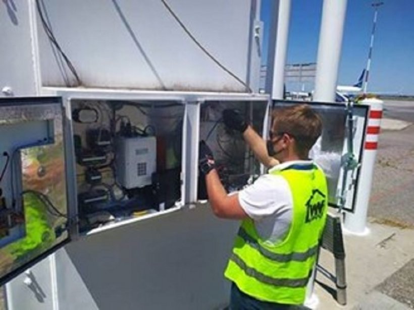 Installation of Radiation Detection Systems in Kyrgyzstan.