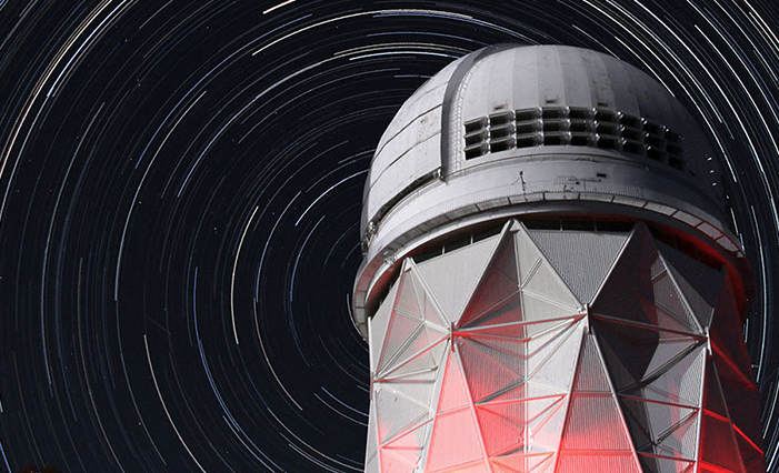 The Dark Energy Spectroscopic Instrument (DESI) will measure the effect of dark energy on the expansion of the universe.