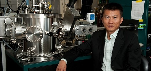 Dr. Yi Cui is pictured here at his lab in Stanford in 2015.