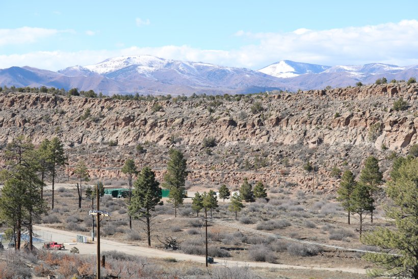 Infrastructure for an interim measure to contain and control migration of a contaminant plume in the groundwater has been designed by the EM Los Alamos Field Office to have a minimum visual impact to Mortandad Canyon.