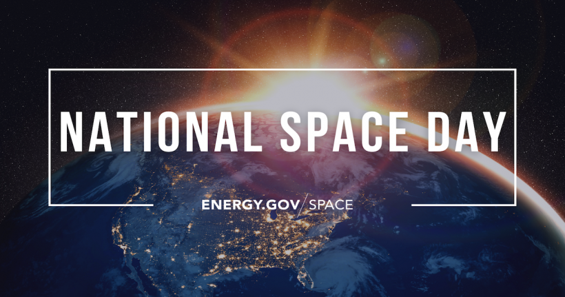 National Space Day is May 7. See how DOE works on space related research and innovation in our blog post.