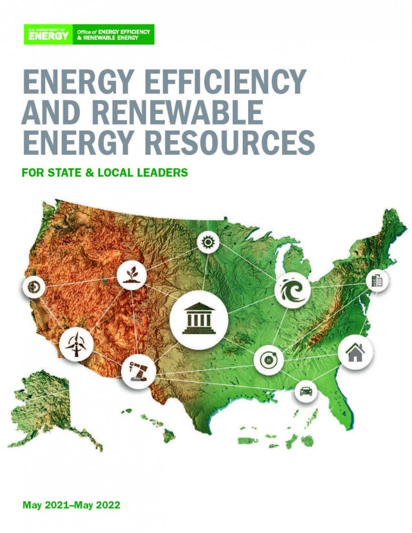 Cover image of the Energy Efficiency and Renewable Energy Resources for State and Local Leaders