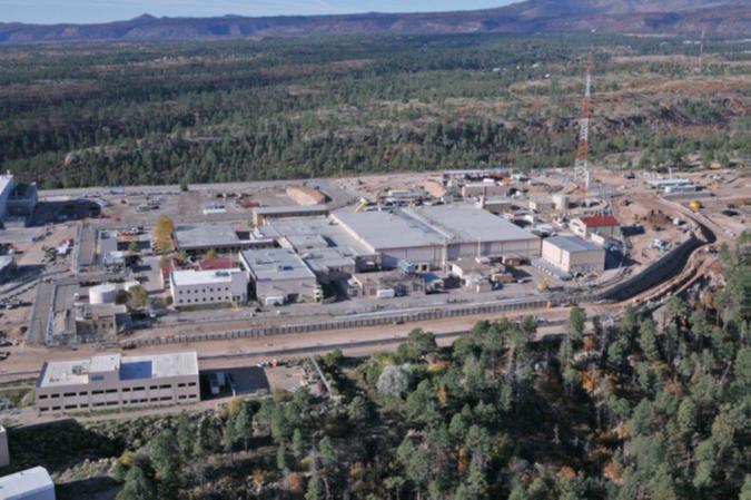 The TA-55 Complex at Los Alamos National Laboratory.